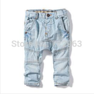 Wholesale Yccz8 Casual 2015 Washed White Boys Jeans Brand Kid Boy
