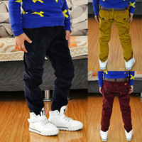 Wholesale New Brand High Quality Kids Jeans Height cm Pure Cotton Straight Baby Jeans For Boys Good For Spring amp Autumn