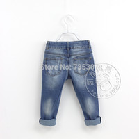 basic style jeans - The foreign trade Europe and USA the Z home basic classic style micro elastic wash boy jeans