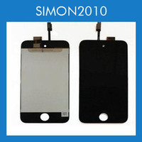 Wholesale ipod touch th Gen Digitizer Touch Screen LCD Display Complete Full LCD Replacement Assembly