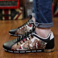 Wholesale New fashion men sneakers Driving Shoe Male breathable casual boat shoes men single loafers men shoes mens Sneaker