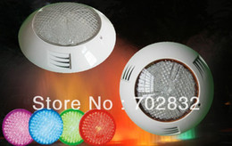 Wholesale Free shippment High quality w LED underwater lights leds RGB with remote PC material