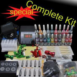 Wholesale Complete Tattoo Kit Machine Guns Ink Power arrive within days