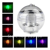 IP33 Garden Guangdong, China (Mainland) Solar Power Energy Garden Christmas Party Water Floating Waterproof LED Pool Light Lamp Colorful Pond Ball