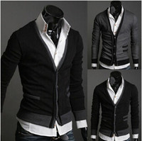 abb sales - 2015 Hot Sale new autumn wear double breasted men cloth imported abb cardigan sweater coat