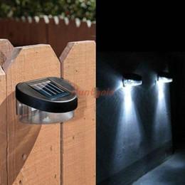 Wholesale Low maintenance Solar Lights Energy efficient Garden Columbia Outdoor Lawn Fence Light