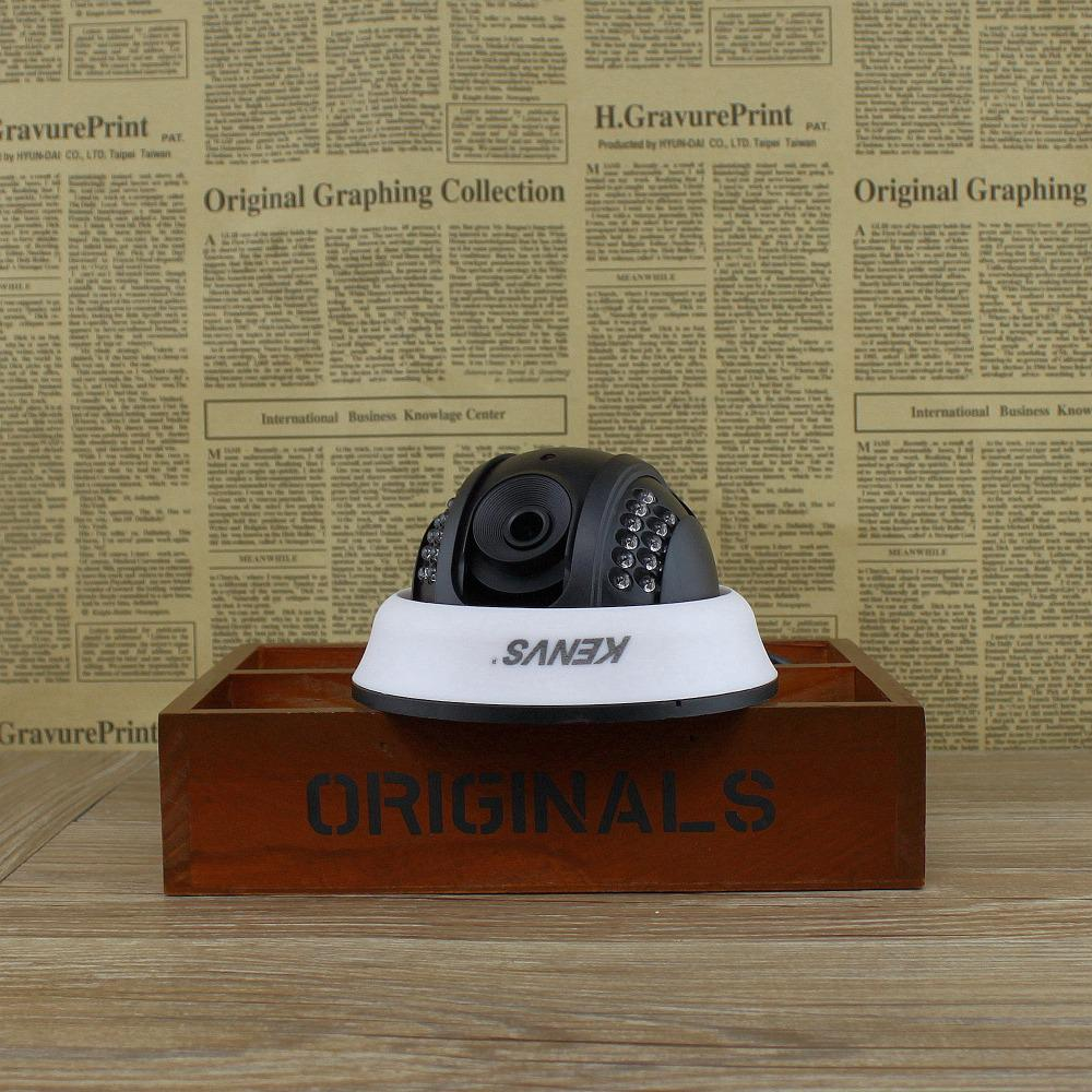 Buy KENVS Newtork IP Camera H.264 HD 960p 25fps 1280*960 Security indoor cctv camera IR-CUT Onvif security