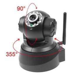 Wholesale Best Price New Black Night Vision IR Webcam Web CCTV Camera WiFi Wireless IP Camera Pan Tilt Security