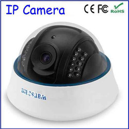 Wholesale Lens Webcam Wifi - Wireless WiFi Dome Helmet IR Cut 15M Lens 6mm Color Watch Network Webcam CCTV Wanscam CMOS Night Vision Home Security IP Camera