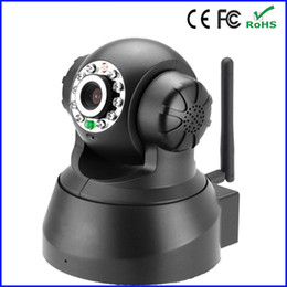 Wholesale New Wireless Dual Audio Recordable Baby Monitor Wifi Infrared Night Vision PanTilt Security Network IP Internet Camera White P2P
