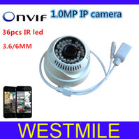Wholesale IP Camera H Onvif MP Network IP X720P MM led HD camera with P2P