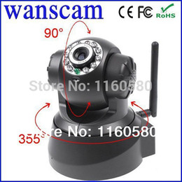 Wholesale JW0008 New Wireless Dual Audio Recordable Wifi Infrared Night Vision Pan Tilt Security CCTV Network IP Internet Camera P2P