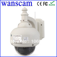 Wholesale PTZ Wireless WaterProof Outdoor IP Dome Camera Wifi Night Vision DDNS ip dome camera Drop Shipping