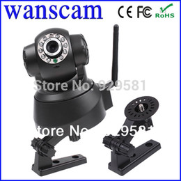 Wholesale JW0008 New Wireless Dual Audio Recordable Wifi Infrared Night Vision Pan Tilt Security Network IP Internet Camera P2P