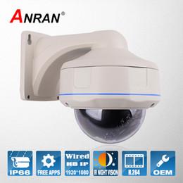 Cámara CCTV carcasa de metal 2.0MP 1080P HD 30IR visión nocturna ONVIF H.264 al aire libre de Seguridad de Red IP para la vigilancia Home Video night vision housing camera for sale desde noche carcasa de la cámara de visión proveedores