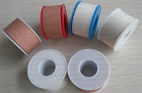 adhesive plaster roll - 2 m m rolls Zinc Oxide Plaster Sports tape cotton tearable adhesive bandage medical tape