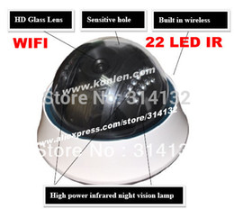 Wholesale Vandalproof android ir dome ip camera wifi ip CCTV camera with led nightvision amp web monitor application free