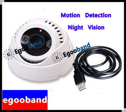 Wholesale NEW IR LED ARRAY CCTV Security DVR Camera usb SD Card Motion Detection Camera C