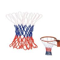 basketball goal nets - ShineLi Standard Durable Nylon Basketball Goal Hoop Net Netting Red White Blue Sports Book