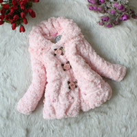 baby winter clothes - Children Outerwear Clothing New Fashion Girls Faux Fur Coat Autumn Winter Kids Jackets Baby Wear Clothes Coat