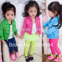 bargain clothes - clearing stock bargain to sell girls s autumn clothing girls elastic outerwear girls s jacket