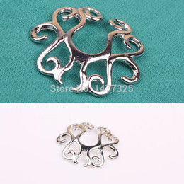 Wholesale Perfect Fashion Stainless Steel Flowers Fake Clip On Non Piercing Nipple Shield Ring Jewelry