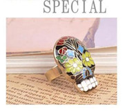 Wholesale Hot Items Stylish Fashion Skull Rings Women s For Sale16MM In Stock Top Quality