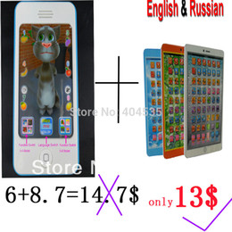 Wholesale 2015 Big discount pc toy for iphone pc English amp Russian learning computer toys nice deal educational toys for children