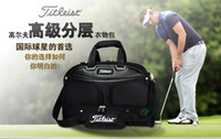 Wholesale golf clothing bag Double shoulder golf clothing bag Male money bag products