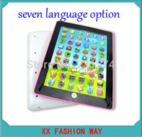 arab language - Portuguese Russis Spanish English Thai Arab Chinese Language Option Children Computer Interactive Tablet Child Educational Toys