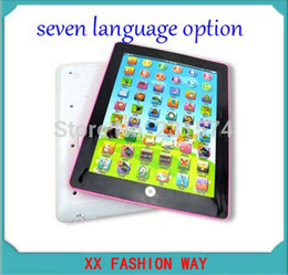 Wholesale Portuguese Russis Spanish English Thai Arab Chinese Language Option Children Computer Interactive Tablet Child Educational Toys