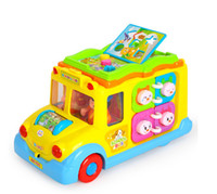 baby school bus - baby toys Electric school bus children music car early educational toys gift for kids