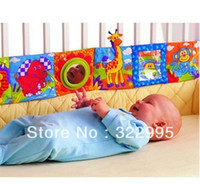 baby bedding alphabet - infant baby toy double sided colorful cartoon animals patterns cloth book bed bumpers z52