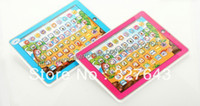 abc early childhood - retail box packing Early childhood educational toy machine learning Y PAD D ABC YS2921B in Russian Teaching