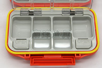 abs strips - Square Waterproof ABS Strength Anti Bump Rubber Strip fishing tackle box Fishing box compartments LH001