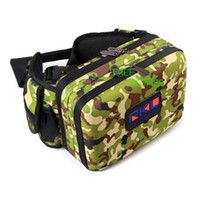 Wholesale Multifunctional Fishing Tackle Bag with Two Trays Boxes