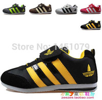 Wholesale children shoes boys and girls sport shoes kids sneakers genuine leather shoes sneakers for child s running