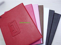 For Apple For Ipad2 Leather Litchi folio Leather Case Skin Cover For ipad air2 ipad air 6 5 4 3 2 ipad2 ipad mini 1 2 3 retina Tablet PC Stand Holder Protector 50PCS