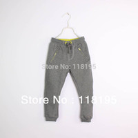 ale brands - Hots ale boys girls outerwear pants brand kids sportswear harem pants cotton children Leisure cloth autumn spring