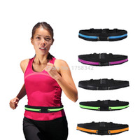 Wholesale Multifunctional Waist bag Casual Waist Pack Sport bag Waterproof Running Bags Purse Mobile Phone Case Double Pocket A1