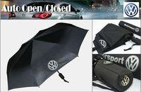 golf umbrella - Excellent AUTO Open Close Folding umbrella VW Volkswagen Passat Polo CC MK4 Golf MK5 CAR Gift
