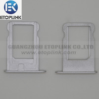 Wholesale Silver Nano SIM Card Tray Replacement Parts Slot for iPhone G