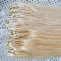 Wholesale 20inch quot Indian remy human X ring microring hair extension g strand s g