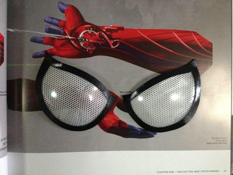 The amazing spiderman eye lenses