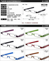 Wholesale Rotate degrees reading glasses Folding lightweight portable resin anti fatigue Men and women high grade reading glasses