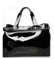 Wholesale evening bags New arrival women s handbag AJ bag shoulder bag japanned leather patent leather oil skin PU jelly handbag bag
