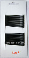 Wholesale Brand new Black Plated Thin U Shape cm Hair Bobby Pin Black Metal Clips Barrette New arrival Hot sale