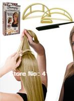 Hair Clip big beauty box - 5 set Bumpits Big Happie Hair Volumizing Inserts Hair Pump Beauty Tool Gift sets retail boxes packing
