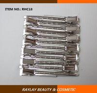 aluminium section - 9cm holes aluminium duck bill clip control clip section clip for hair styling