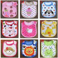 baby bandana bibs - 2015 NEW Cotton Baby Bibs bandana bibs for babies Cotton Baby Bib Infant Saliva Towels Cartoon Accessories layers WJ002